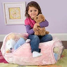 Stuffed Animal Storage Idea Fill A Bean Bag Chair Cover With Them