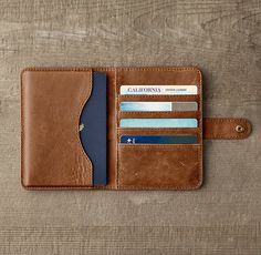RH's Italian Leather Passport Cover:Designed for journeys near and far, epic and everyday, our Italian leather accessories are as luxe as they are practical. Crafted with care by a 150-year-old Italian tannery, each is made from the finest English hides, chosen for richness and character.