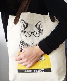 mala, bolsa, raposa, fancy fox, cortiça