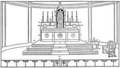 Catholic Altar, Catholic Mass, Catholic Crafts, Catholic Prayers, Roman Catholic, Colouring Pages, Coloring Books, Holy Saturday, Catholic Online