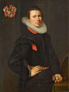 Gerbrant Buyck, 1601, by Cornelis Ketel