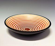 Bowl by Nora Gulbrandsen for Porsgrund Porselen. Designing Women, Norway, Sweden, Decorative Bowls, Scandinavian, Designers, Art Deco, Pottery, Clay