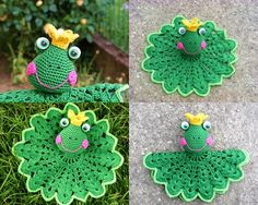 Amigurumi , Crochet Frog snuggle , comfort blanket PDF pattern by ZiccaHandmadeCrochet on Etsy