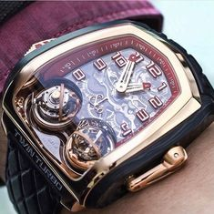 See luxury watches. Patek Phillippe, Hublot, Rolex and much more. Fine Watches, Men's Watches, Cool Watches, Fashion Watches, Wrist Watches, Watches Online, Amazing Watches, Beautiful Watches, Stylish Watches