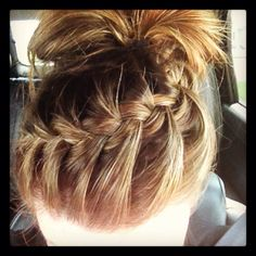 Beach braid copy cat from here attempt #1
