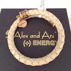 Alex & Ani Bracelet Braided leather wrap! Brand new  Alex & Ani Jewelry Bracelets