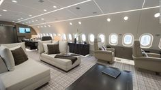 The most eye-catching element of any VIP aircraft is the cabin interior. It's not unusual for the buyer of a corporate aircraft to spend as much, if not more, on the personalization of its interiors as on the aircraft itself.