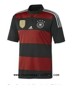 camiseta de Alemania segunda 4 estrellas Ganadores 2015-2016