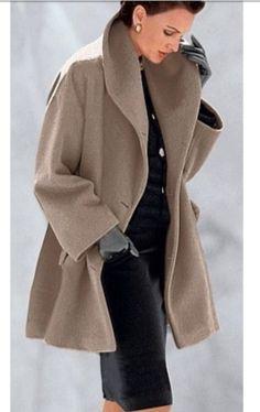 Stylish tan coat