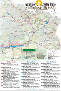 gunnison map for camping