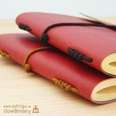 Soft cover + viewed stitch / Cuaderno flexible + costura vista