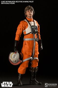 Sideshow's Going In With An Amazing X-Wing Pilot Luke Skywalker Figure