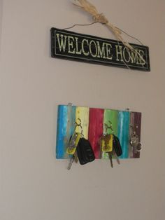 Reduce, Reuse, Renewed: Floor Samples to Key Holder