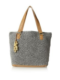 50% OFF Straw Studios Women's Large Tote, Grey