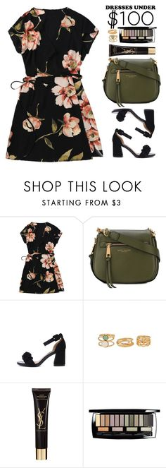 """Under $100: Summer Dresses"" by beebeely-look ❤ liked on Polyvore featuring Marc Jacobs, Yves Saint Laurent, Lancôme, ootd, under50, floraldress, under100 and zaful"