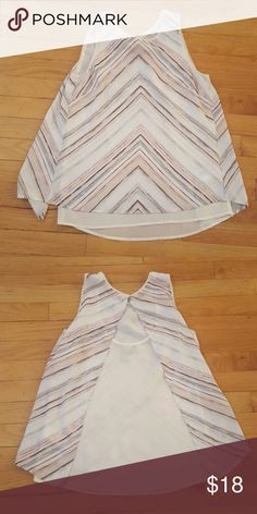 H&M sleeveless blouse Never worn.. perfect condition! Its a size 2, but H&M sizes tend to run small H&M Tops Blouses