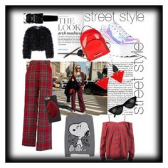 """""""street meet"""" by bi-jo ❤ liked on Polyvore featuring Kenzo Parfums, Sans Souci, Princess Goes Hollywood, Y.R.U., Kendall + Kylie, Chelsea28, Azature, Toolally, contestentry and nyfwstreetstyle"""
