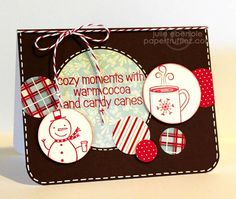 Candy Canes & Cocoa by JulieHRR - Cards and Paper Crafts at Splitcoaststampers