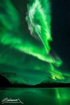 Stunning Aurora Borealis Photos Taken in Northern Norway by Ole Salomonsen