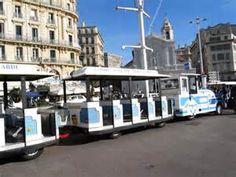 Sightseeing Petit-train tour in Marseille, Notre Dame de la Garde ...