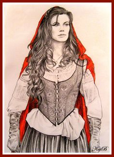 Red / Ruby by KatBjorky on deviantART ~ Once Upon a Time tv series ~ actress Meghan Ory