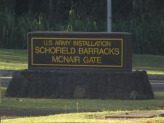 Schofield Barracks, Oahu, Hawaii