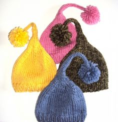 knitted Who Hats - too cute!!