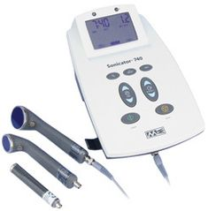 Choosing and applicator for your ultrasound machine can be tough which is why we recommend the Sonicator 740 X from Mettler with 3 sizes of soundhead applicator.