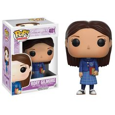 This is the Funko Gilmore Girls POP Rory Gilmore Vinyl Figure. It's produced by the nice folks over at Funko. It's great to see that the Gilmore Girls got their very own line POP vinyl figures. So coo