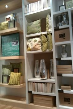 full height visual merchandising  perfect for home decor section