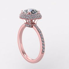 rose gold engagement ring See more here: https://www.etsy.com/listing/241521841/rose-gold-engagement-ringcushion?ref=shop_home_active_6