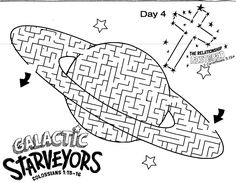 galactic starveyors coloring pages 262 Best Galactic Starveyors 2017 VBS images | Outer space  galactic starveyors coloring pages