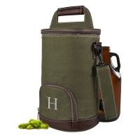 Personalized Insulated Beer Growler Cooler Bag