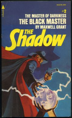 The Shadow 2 - The Black Master - Steranko cover