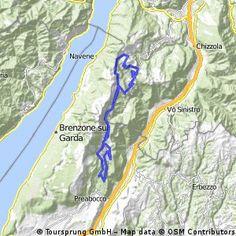 Giro del Baldo - Distance: 59.22 km - Elevation: 1650 hm - Location: Ferrara di Monte Baldo, Veneto, Italy Maputo, Italy, Viajes