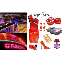 Vegas on Fire,   my Las Vegas bridal outfit :P