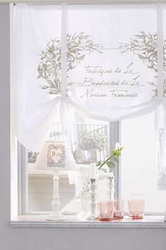 Window Coverings, Window Treatments, Valances & Cornices, Drapery Hardware, Curtains With Blinds, Shabby Chic, Design Inspiration, House Design, Windows