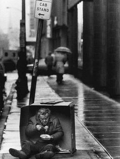 Philadelphia's Homeless 1986 Pulitzer Prize, Feature Photography, Tom Gralish, The Philadelphia Enquirer