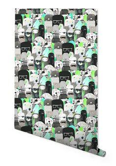 Bears + Beasties Wallpaper