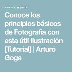 Conoce los principios básicos de Fotografía con esta útil Ilustración [Tutorial] | Arturo Goga