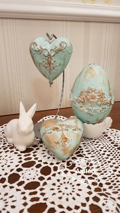 Cute Diy Projects, Easter Projects, Easter Crafts, Decor Crafts, Diy Crafts, Egg Art, Christmas Decorations, Christmas Ornaments, Egg Decorating
