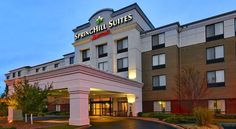 SpringHill Suites Louisville Hurstbourne/North Louisville Located 20 minutes from Louisville International Airport, this recently redesigned all-suite hotel includes a hot tub, indoor pool, and gym. Suites feature flat-screen TVs and free Wi-Fi.