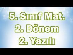 5. Sınıf Matematik 2. Dönem 1. Yazılıya Hazırlık (CANLI) - YouTube