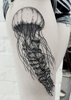 Jellyfish tattoo | Barbara Morrison