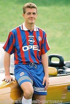 Thomas Strunz Bayern München 1995-96 seltenes Foto