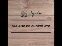 RECEITA SALAME DE CHOCOLATE