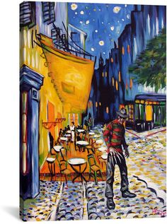 Goodfellas Oil Painting Hand-Painted Art Canvas Signed NOT a Print Poster L XL
