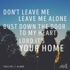 hollyn lyrics alone - Google Search