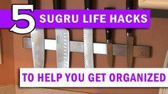 5 Sugru Life Hacks to Help You get Organized!