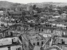 1953년 시경 옥상에서 내려다 본 태평로 일대 (서울시 제공)